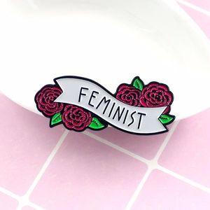 Jewelry - NEW Feminist Enamel Pin Brooch